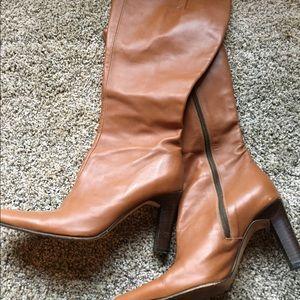 J Crew heeled boots